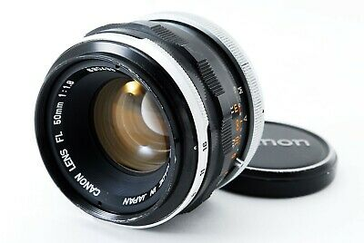 [Exc +++]  Canon FL 50mm F/1.8 MF Standard Lens from Japan