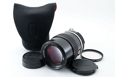 Nikon Ai Nikkor 135mm f/3.5 MF Telephoto Lens [Near Mint] From Japan #1981