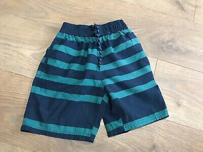 Fat face boys swimming trunks 6-7 years green blue C507
