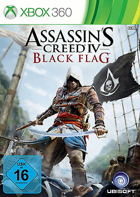 Assassin's Creed IV: Black Flag (Microsoft Xbox 360) mit Anleitung und OVP AC BF