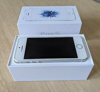 Apple iPhone SE - 16GB - Silver/White (Vodafone) Pre-Owned Good Working Order.