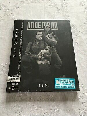 Lindemann – F&M Japan Edition Cd Hardcover Neu & Ovp 1. Press 完全数量限定盤 Rammstein