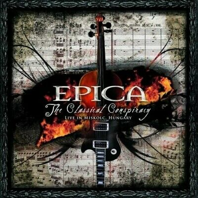 Epica - The Classical Conspiracy [New CD]
