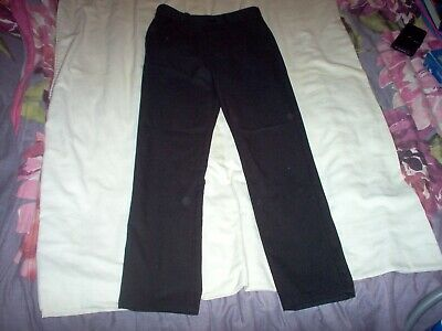 Boys Next school trousers black size age 12 years