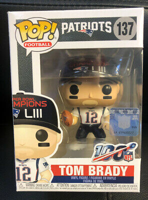 POP NFL: Tom Brady New England Patriots (SB Champs LIII) Funko POP MINT