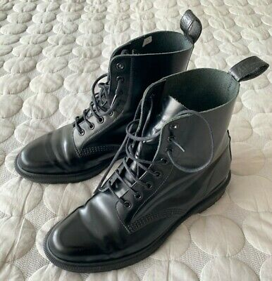 Dr. Martens Men's Boots, Made In England, Black, Size 9 (EU 43), Worn Once