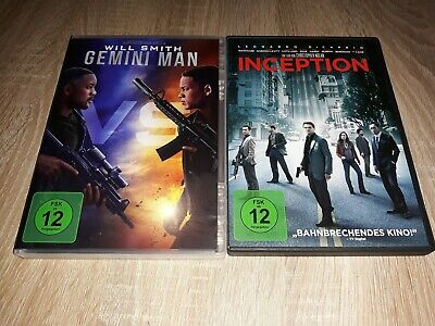 Gemini Man (2019) Inception, DVD (Aladdin (2019), Once Upon a time in Hollywood)