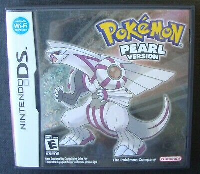 Pokemon Pearl Version Nintendo Ds Video Game Tested & Working