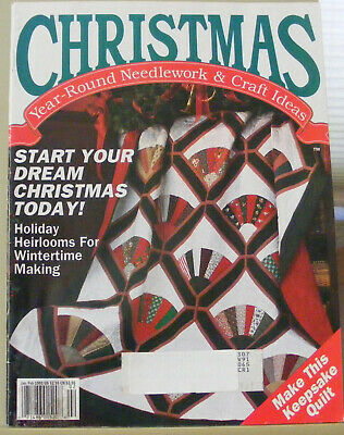Crafting Magazines featuring Christmas projects - 4 magazines 1991-1995