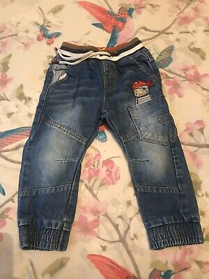 Boys Next Jeans X 2 Size 18-24mths Used