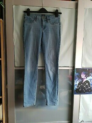 GAP kids super skinny fit  washed blue zip button up denim jeans trousers