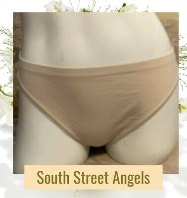 Victoria's Secret Vintage Nude Body By Victoria Low Rise Thong Panties ~ Large