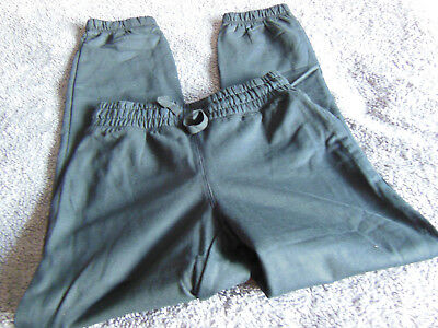 Boys black tracksuit bottoms aged 8-10 years BNWT!