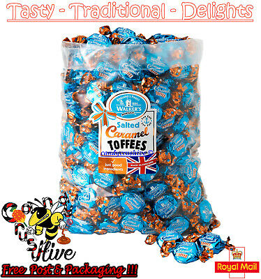 1 - 600 Walkers Nonsuch Salted Caramel Toffees Wrapped Sweets Pick N Mix