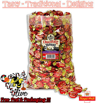 1 - 600 Walkers Nonsuch Real Chocolate Toffees Wrapped Sweets Traditional
