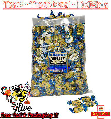 1 - 600 Walkers Nonsuch English Creamy Toffees Wrapped Sweets Traditional