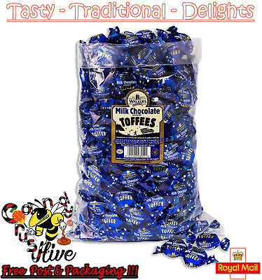 1 - 600 Walkers Nonsuch Milk Chocolate Toffees Wrapped Sweets Traditional