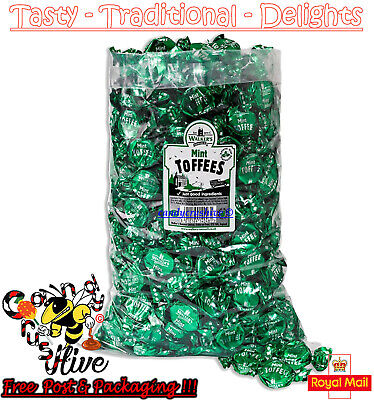 1 - 600 Walkers Nonsuch Mint Toffees Wrapped Sweets Traditional Pick n Mix