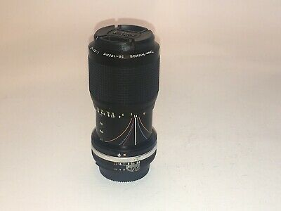 Nikon Zoom-NIKKOR AI MF 35-105mm f/3.5-4.5 with Nikon cap in excellent condition