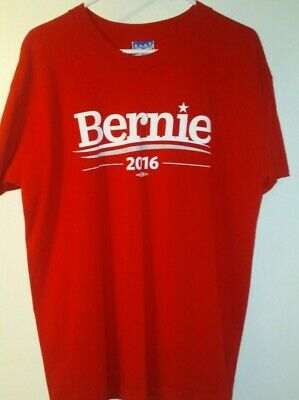 Bernie Sanders President Union Made Shirt 2016 not 2020 Red Union Made For Sale