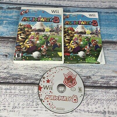 Mario Party 8 (Nintendo Wii, 2007) Complete - Tested