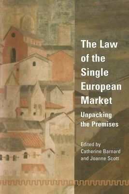 BOOK NEW The Law of the Single European Market (2002)
