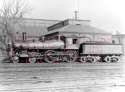 OCRR Engine 142 in 1887-8x10 Photo Old Colony Railroad