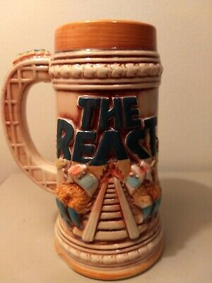 Kings Island The Beast Vintage Rare Ceramic Stein