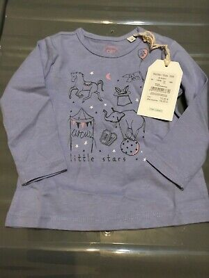 Brand New With Tags Baby Girls Sanetta Top Age 6 Months