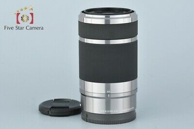 Excellent-!! Sony E 55-210mm f/4.5-6.3 OSS SEL55210 Silver