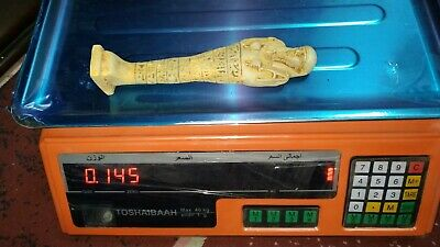 RARE ANCIENT EGYPTIAN ANTIQUE  USHABTI Statue faience 1411-1259 BC