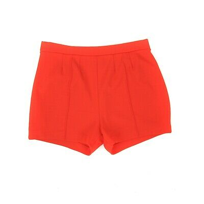 Vintage 70s Bright Cherry Red High Waist Pin Up Retro Hot Pants Short Shorts S M