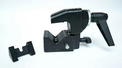 Manfrotto 035 Super Clamp with insert - Black in Excellent Condition