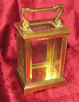 Very Well Made Brass French Carriage Antique Clock Case