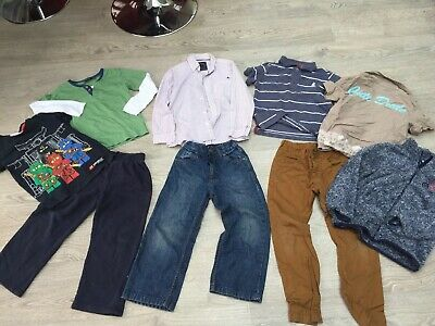 Bundle Of Boys Clothes Aged 4-5 Years  Eur 110 Cms - 9 Items :)