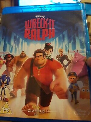 Wreck-it Ralph Blu-ray (2013) Rich Moore cert PG Expertly Refurbished Product