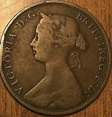 1861 Nova Scotia Large Cent Penny