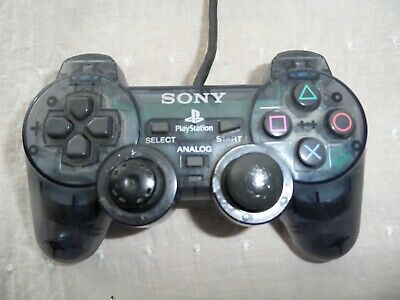 Official Sony PlayStation 1 PS1 Clear Transparent Controller