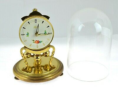 1970's Kundo 400 Day Mantle Clock with guarantee leaflet