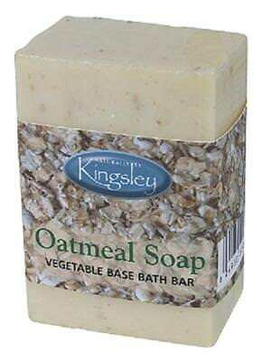 Natural OATMEAL SOAP  Naturally by Kingsley - 9.8 oz.