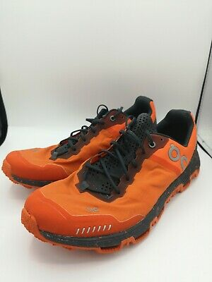 On Running HERREN LAUFSCHUH Trailrunning CLOUDVENTURE PEAK Gr. 42.5 Orange