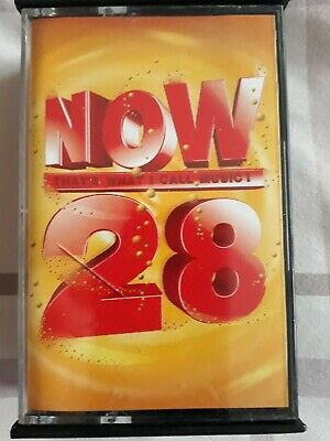 now 28 2 cassette tapes that's what i call music various artists 40 top chart hi