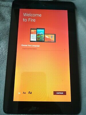 Amazon Kindle Fire Tablet 5th Generation - Black
