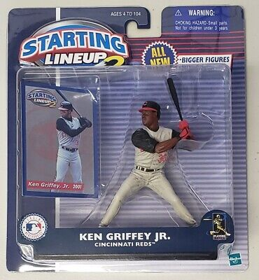 2000 Baseball Starting Lineup NIP Cincinnati Reds with card Ken Griffey Jr