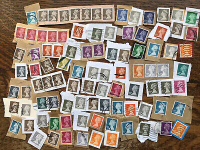 Collection Of LATEST GB HIGH VALUE MACHIN DEFINITITIVE STAMP KILOWARE