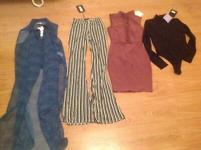 Bundle of Ladies Clothes NWT Size 6. *Zara, Missguided & Pretty Little Thing*