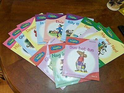 Phonics with Traditional Tales Set Collection, 12 Books, Oxford Reading Tree