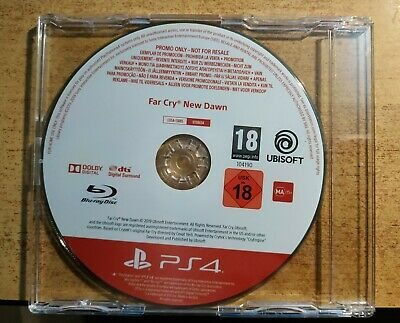 Far Cry New Dawn PS4 PROMO Game Rare Sony PlayStation 4 Promotional (FULL GAME)