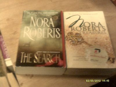 The Search + Treasures by Nora Roberts    (r)