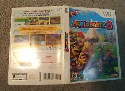 Mario Party 8 Eight - Nintendo Wii 2007 - very good with manual
